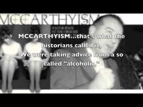 Senator Joseph McCarthy, McCarthyism, Red Scare