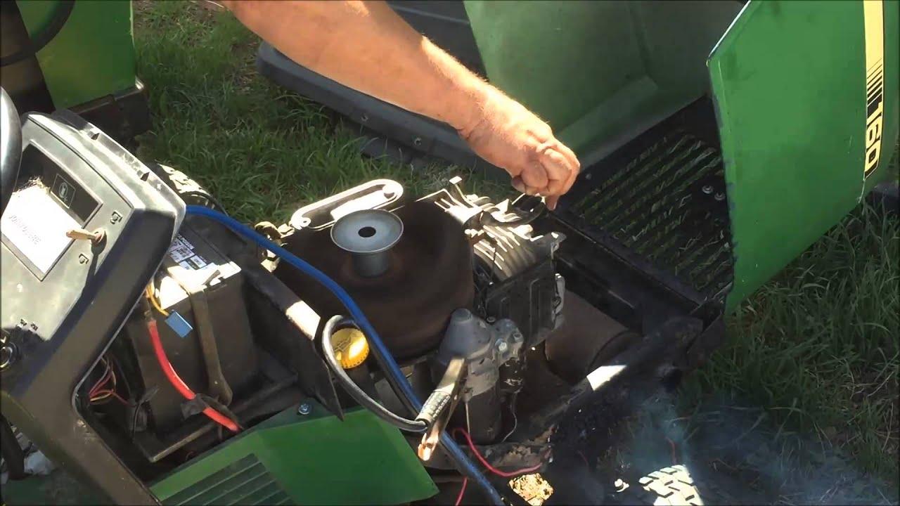 JD160 Kawasaki FB460V Engine Start