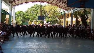 Justice For OFW.  Cookery and LIM Dancers @Camarinies Norte National High School