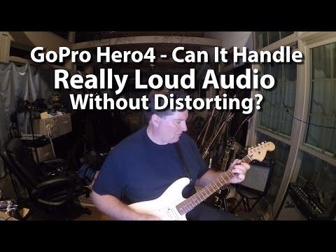 GoPro Hero4 Music Fidelity Test - Peak Limiting