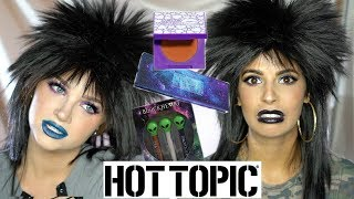 A FULL FACE OF HOT TOPIC MAKEUP W. GLAM AND GORE!