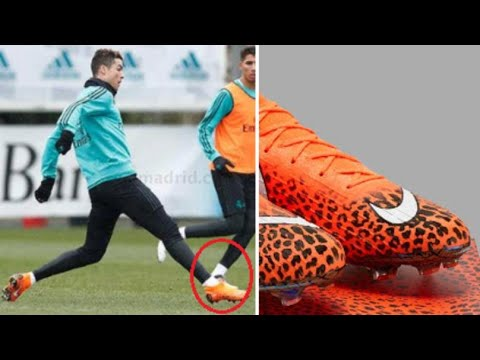 Cristiano Ronaldo To Wear Special Edition Cheetah-Printed Nike Mercurial  Boots