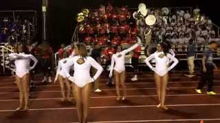 "Donaldsonville High School Marching Band ""Ring My Bell"" 2014"