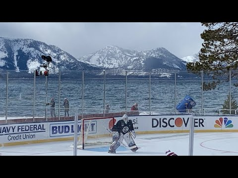 Previewing LAKE TAHOE NHL Outdoor Game #1 - Vegas Golden Knights vs Colorado Avalanche