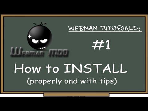 PS3 - webMAN Tutorial #1 (Install) w/tips on: marked boxes, prepNTFS, plugin memory, fan control etc