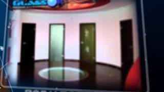 видео стеклянные двери Киев