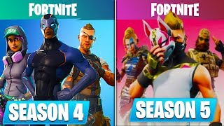 NEW SEASON 5 SKINS GOT LEAKED EARLY! *INSANE* - Fortnite Battle Royale Season 5 Battle Pass LEAKED
