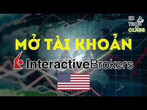 Interactive Brokers là gì? Mở tài khoản IB với giấy tờ ở Mỹ | EZ TECH CLASS