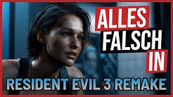 Alles falsch in Resident Evil 3 REMAKE 🛎️ GameSünden [SATIRE]