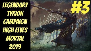 Legendary High Elf Campaign #3 (Tyrion) -- Mortal Empires 2019 -- Total War: Warhammer 2
