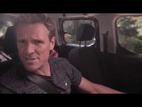 James Cracknell and his children go back to basics with Vauxhall