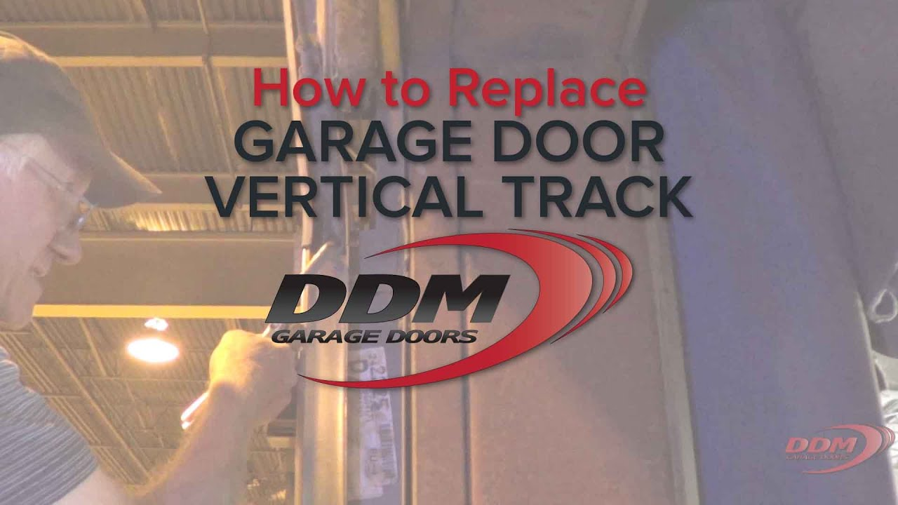 Exceptional How To Replace Vertical Garage Door Track   YouTube