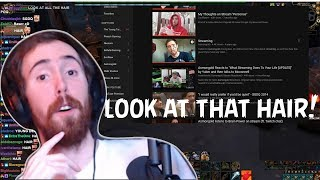 Asmongold Reacts to His First Stream Video w/ Chat