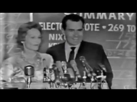 Alternate History: Nixon Elected in 1960 (Election Night and Inauguration Reels)