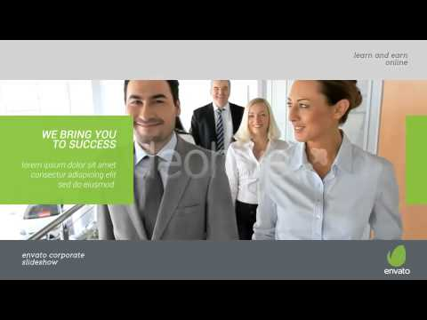 company profile video presentation: after effects template - youtube, Presentation templates
