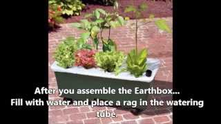 Modify Your EarthBox Planter to Minimize Mosquitos! - Simple Modification - DIY !