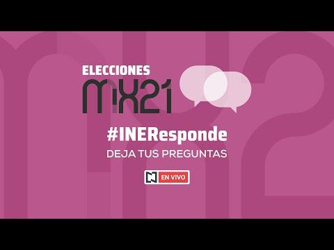 En vivo: El INE responde tus dudas sobre las elecciones en México 2021.