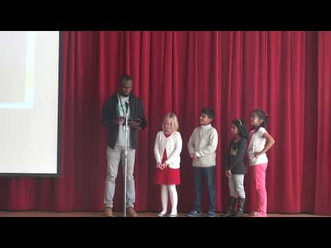 Syed Askari Hussain - SHINE AWARDS - Q1 2017 - Cedar Fork Elementary School 10/27/2018