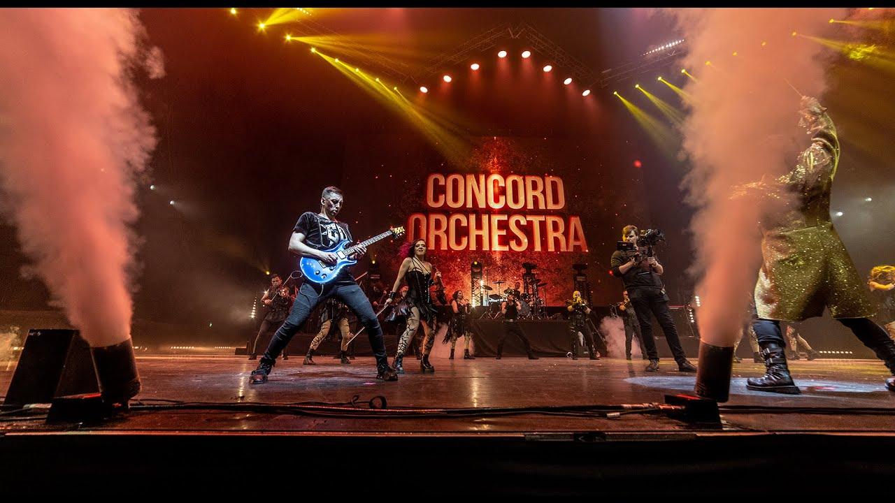CONCORD ORCHESTRA - Smoke on the water - Deep Purple Cover - Симфонические РОК-ХИТЫ   Властелин тьмы