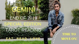 """GEMINI - """"WINDFALL AND REMOVE THE EX"""" END OF 2019 SPECIAL EDITION TAROT READING"""
