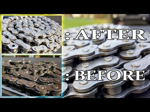How To Clean Your Dirt Bike Chain For 20 CENTS!!!