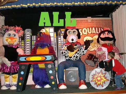 Chuck E Cheese's ALL characters - #Savetheanimatronics