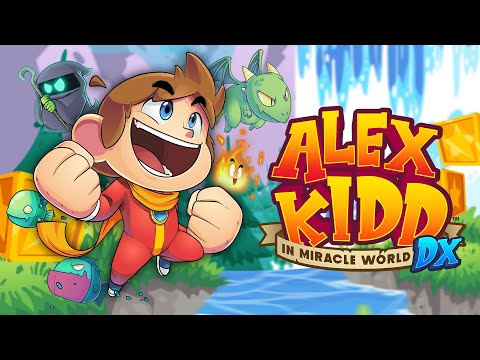 Alex Kidd in Miracle World DX Launch Date Reveal Trailer PO