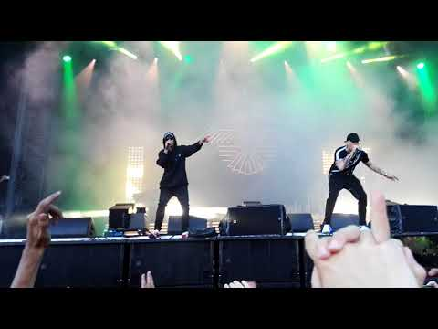 Gottseidank - Raf Camora und Trettmann live Kosmonaut Festival 2018