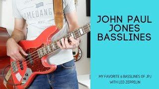 John Paul Jones Basslines - my top 6