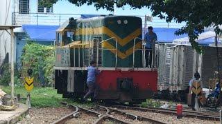 Nha Trang to Saigon (Ho Chi Minh City - Vietnam) by Rail - 4K