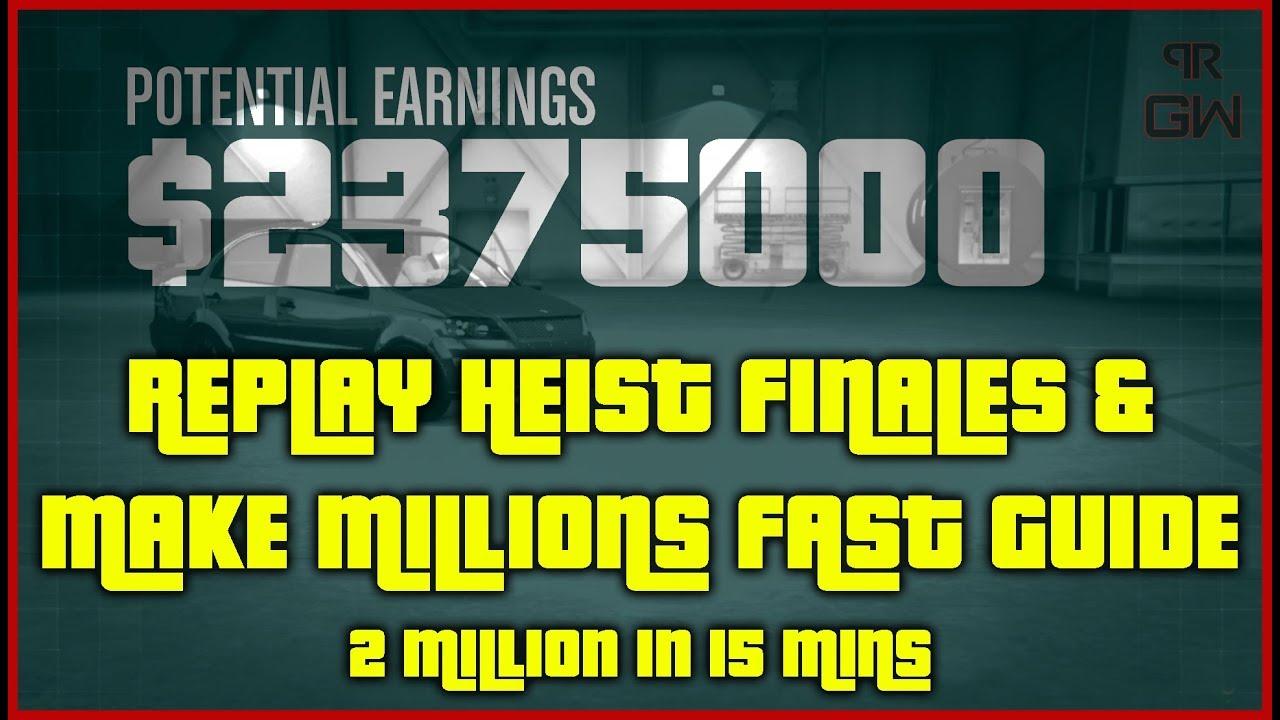 Make MILLIONS with Doomsday Bogdan Problem Heist - Replay ONLY Heist  Finales - GTA 5 Online 2019