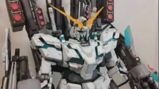 Repeat youtube video Gundam Review: MG Full Armor Unicorn Gundam Ver. Ka. pt02