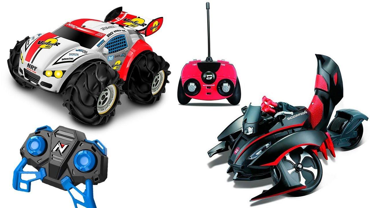МАШИНКИ на пульте управлениия для Детей - RC Cars for Kids