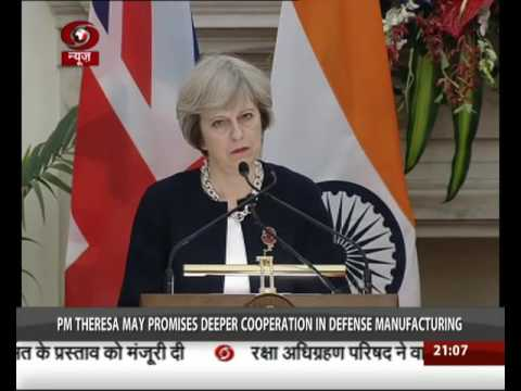 India-UK sign two key agreements
