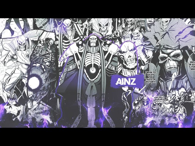 OVERLORD ALL 70 CHARACTERS STATS AND DATA CARDS [HD][60FPS]