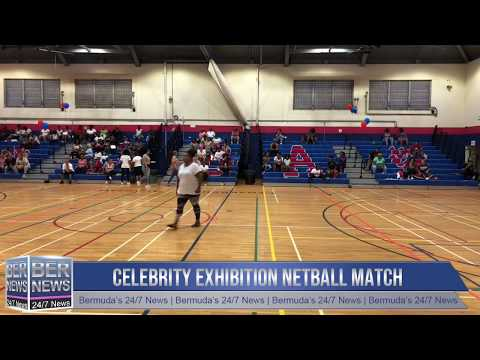 Celebrity Exhibition Netball Match, September 29 2018