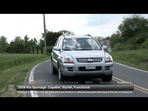 2008 Kia Sportage Used Car Report