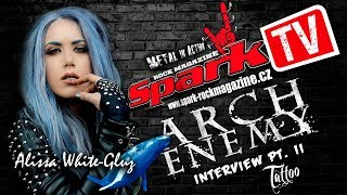 ARCH ENEMY - Alissa about her tattoos