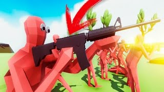 SOLDADOS CON M16 !!! OMG !! SIMULADOR DE BATALLAS !! TOTALLY ACCURATE BATTLE SIMULATOR Makiman thumbnail