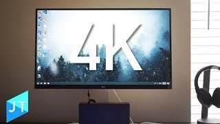 GREAT All Around 4K Monitor? LG 27UD69W-P Review