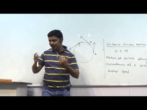 Circular Motion Lecture 2, HSC std 12, Maharashtra Board.