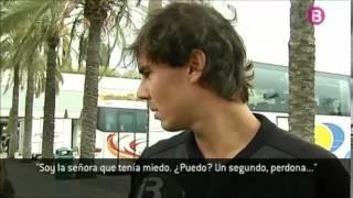 Rafael Nadal is back home in Mallorca (April 3, 2014)