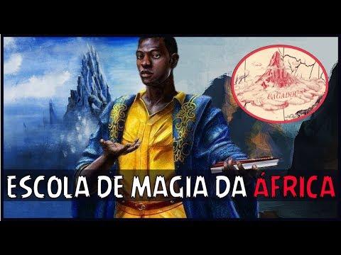 BRUXOS QUE NÃO USAM VARINHAS - UAGADOU - A ESCOLA DE MAGIA DA ÁFRICA!