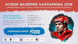 26/12/18. Кубок Валерия Харламова. Красная Звезда 2008 СПб - Локомотив Ярославль 2-7