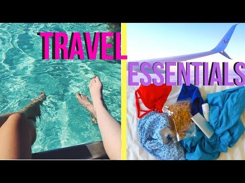 HELPFUL SPRING BREAK/TRAVEL ESSENTIALS! 2018