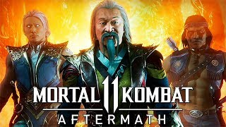 ОТРЯД ШАШЛЫЧНИКОВ ► Mortal Kombat 11: Aftermath #1