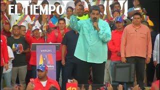 Presidente Maduro desafía censura extranjera y ofrece 'premio' a votantes  | EL TIEMPO