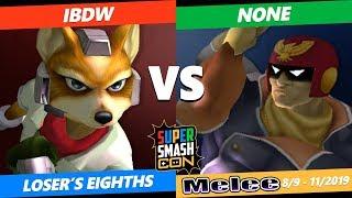 SSC 2019 SSBM - ACE iBDW (Fox) VS  n0ne (Captain Falcon) Smash Melee Loser's Eighths