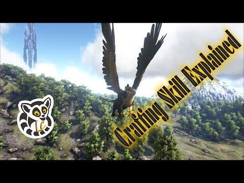 Ark: Survival Evolved – Crafting Skill Explained