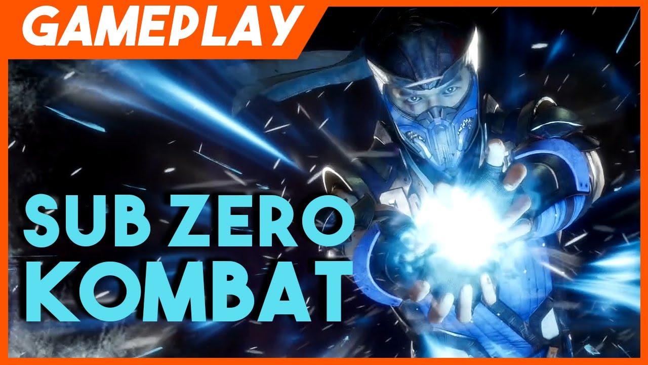 Mortal Kombat 11 Sub Zero Gameplay Youtube